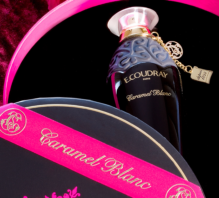 """Caramel blanc"": the new captivating fragrance of E.Coudray"